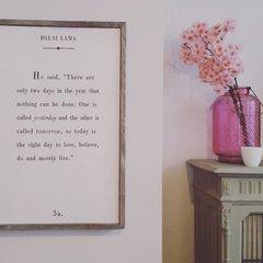Fotolijsten en wanddecoratie