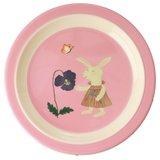 Rice - Melamine Kids Plate - Bunny Print