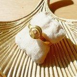 Muja Juma - Ring - verguld  - Mystic Eye