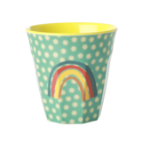 Rice - Melamine cup - Regenboog