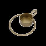 UNC - Waxine - cirkel goud