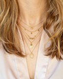 Muja Juma - necklace - Gold Plated - circle