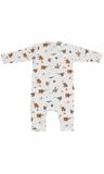 Kids up Baby - Jumpsuit dierenprint_