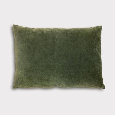 UNC -- Cushion - Vintage Velvet - Kombu Green