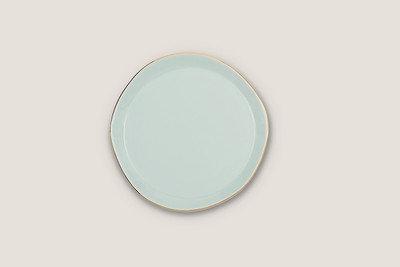 UNC - bord Good morning - celadon groen