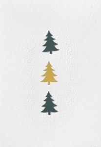 Räder - Kaart - Kerstbomen