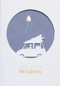 Räder - Postcard - Driving home for Christmas