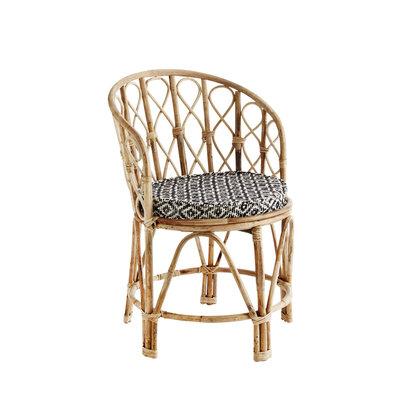 Madame Stoltz -Bamboe stoel - met kussen