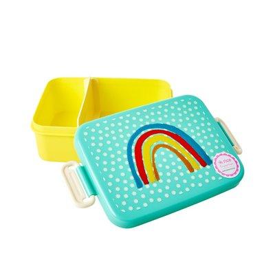 Rice - Grote lunchbox - Regenboog en sterren Print