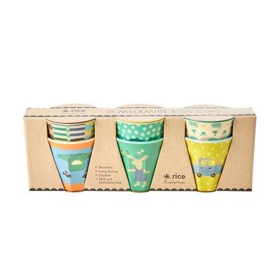 Rice - Small Melamine Cups - Bunny Print