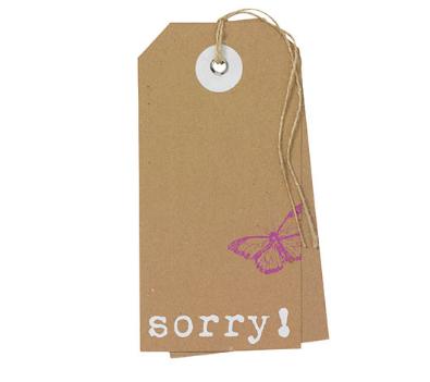 Rader - Sorry kaartje