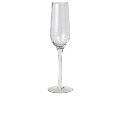 Broste bubble champagne glas