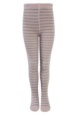 Melton - maillot - roze/grijze streep