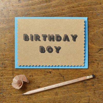 Wenskaart - Birthday boy