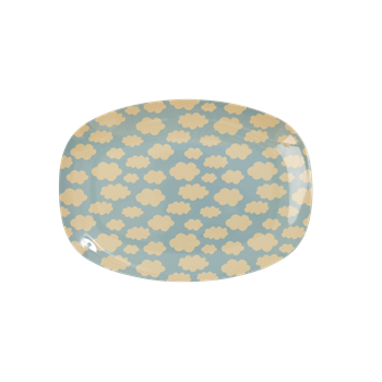 Rice - langwerpig bord - Wolk - Small