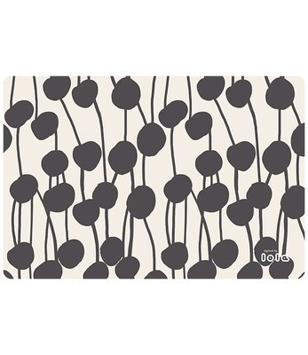 Lola - Placemat - Cottonfield black