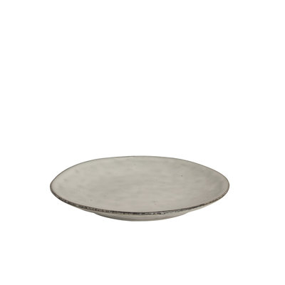 Broste Nordic sand - gebaksbordje - side plate - 15 cm