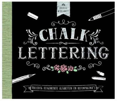 Boek - Creatief werkschrift - Chalklettering