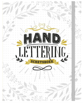 Boek - Handlettering - Schetsboek