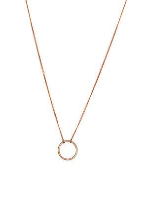 Juulry - enkele cirkel - ketting - goud