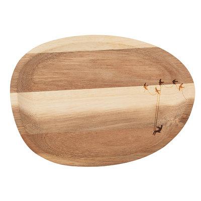 Räder - Wonderland dienblaadje - hout