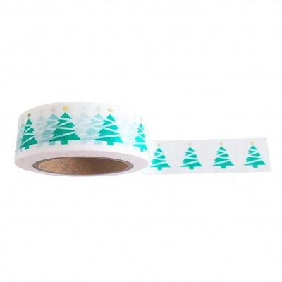 Studio Stationary - Washi tape - Kerstboom