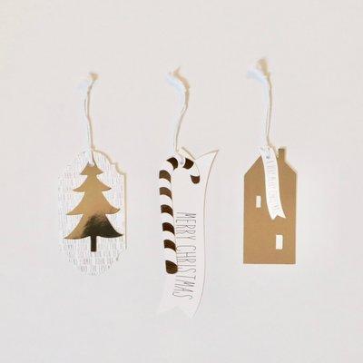 Räder - Gift tags - Christmas