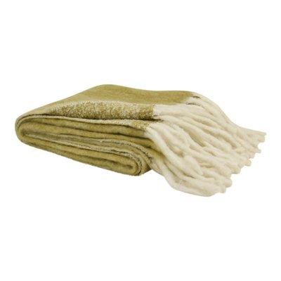Imbarra - throw - mustardgreen