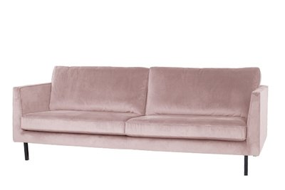 Lifestyle - Perugia bank - velvet stof - 3 zits - diverse kleuren