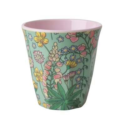Rice - Melamine cup - Lupine print