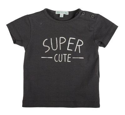 Blablabla - t-shirt - Supercute - donkergrijs