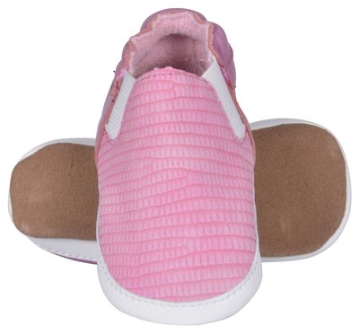 Melton babyschoen leer roze