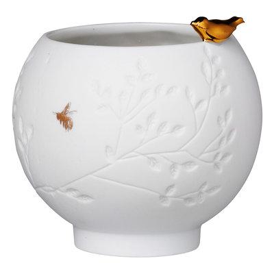 Räder - Porcelain bowl - Golden bird