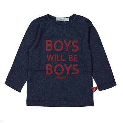 Blablabla - Shirt lange mouw - Boys will be boys