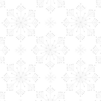 Räder - Servet - Zilveren sterren