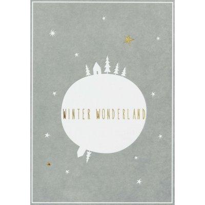 Räder - Kerstkaart - Winter wonderland