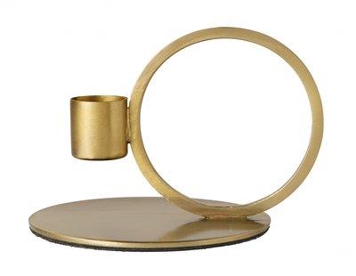 Nordal - Candle holder cirkle - Brass