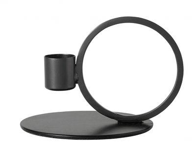 Nordal - Kandelaar cirkel - Zwart
