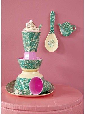 Rice - Melamine cup - fern & leaf print