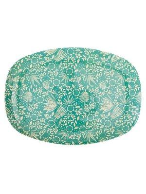 Rice - Melamine bord - fern & leaf print