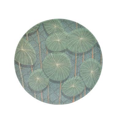 UNC Bamboe bord - Nymphaea - Ø 20