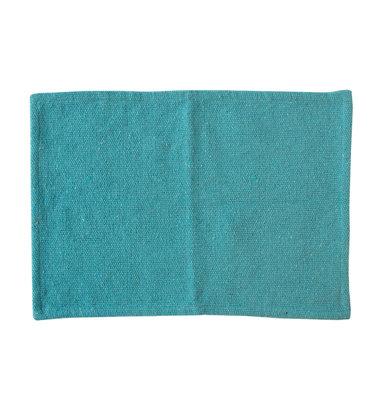 UNC - Katoenen placemat - lichtblauw