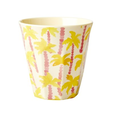 Rice - Melamine cup - Palm Tree print