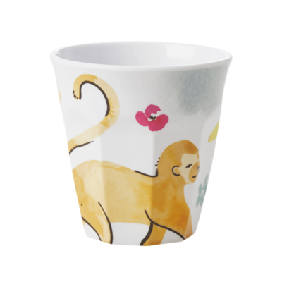 Rice - Melamine cup - monkey print