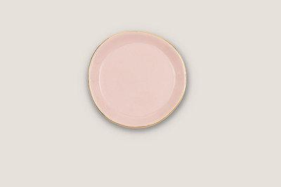 Klein bord roze