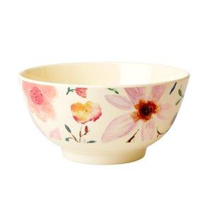 Rice Medium Melamine Bowl Selmas Flower Print