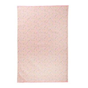 Rice Cotton Tea Towel Small Flower Print
