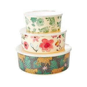 Rice Melamine bowls