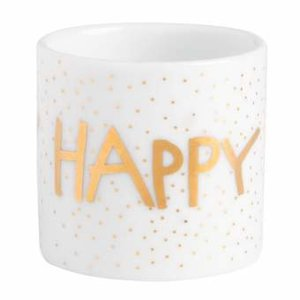 Rader - Waxinelichthouder - Happy Birthday