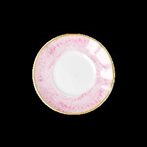 Rice - taartbord porselein - roze 16,5 cm
